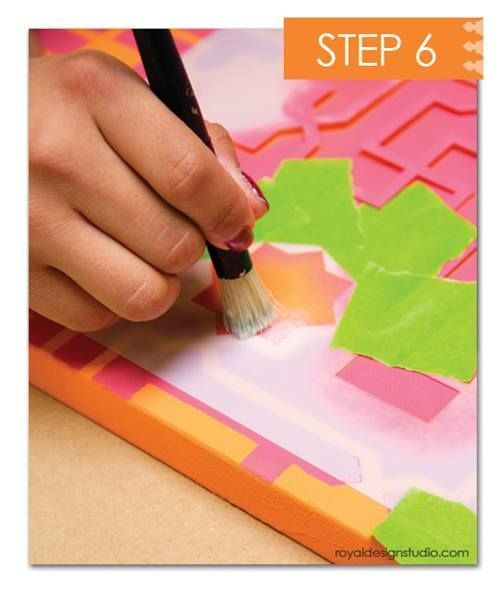 Cómo decorar mi casa con plantillas para pintar de estilo marroquí 11