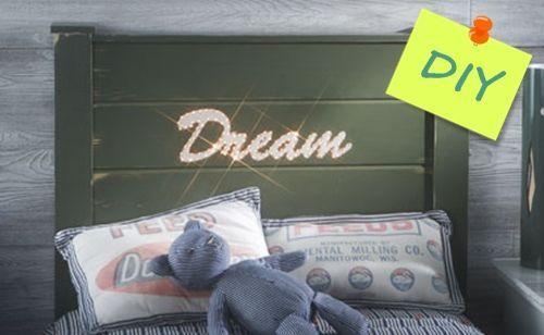 letras para decorar (e iluminar) cabeceros de cama 1