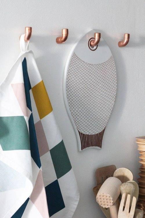 decomanitas descubre cmo decorar reciclando tuberas de cobre