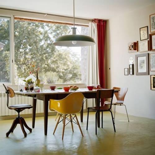 Últimas tendencias en decoración: comedores vintage con sillas ...