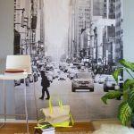 Cosas hechas con palets esta vez les toca a las paredes for Fotomurales de ciudades para pared