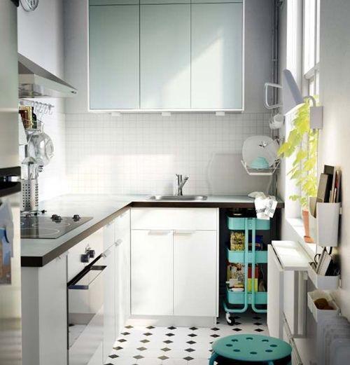 Cómo transformar camareras de cocina Ikea Rastog en muebles de almacenaje 9