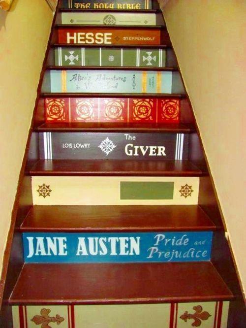 Decorar escaleras con ideas creativas para hacer tú mismo 4
