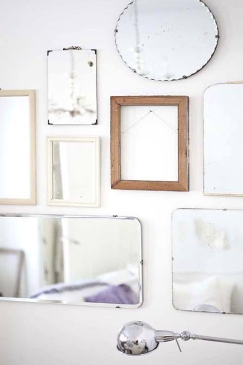 Espejos decorativos para habitaciones vintage decomanitas for Espejos enteros para habitaciones