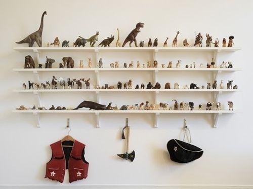 Ideas para decorar con colecciones de objetos curiosos 3