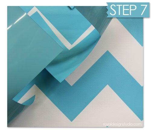 Nuevas ideas geom tricas con plantillas para pintar - Como pintar una pared a rayas ...