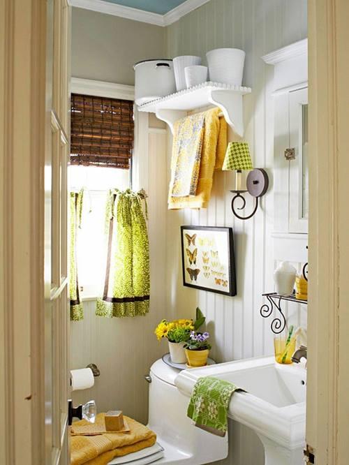 Cómo decorar baños pequeños 2