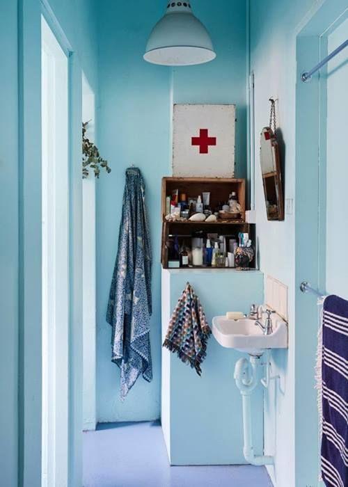 Cómo decorar baños pequeños 6