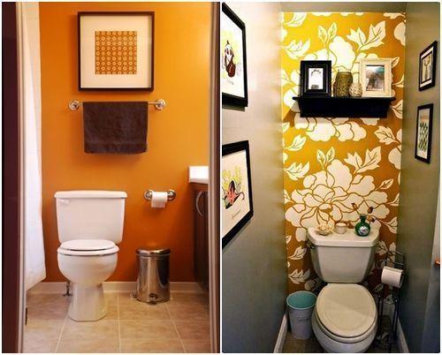 Cómo decorar baños pequeños 8