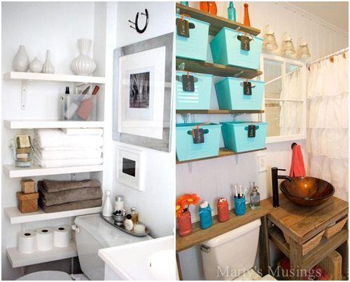 Cómo decorar baños pequeños 9