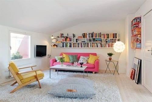 Decoración de interiores chic para ampliar una casa pequeña 1