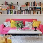 """Decoración de interiores chic para """"ampliar"""" una casa pequeña"""