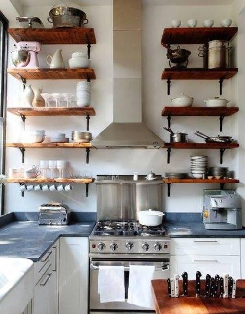 Estanter as de madera baratas para cocinas con encanto - Foro cocinas baratas ...
