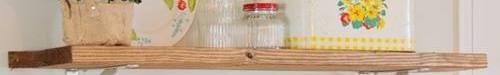 Estanterías de madera baratas para cocinas con encanto ...