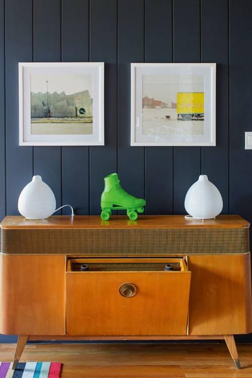 Muebles de colores para una decoración de interiores atrevida y singular 4