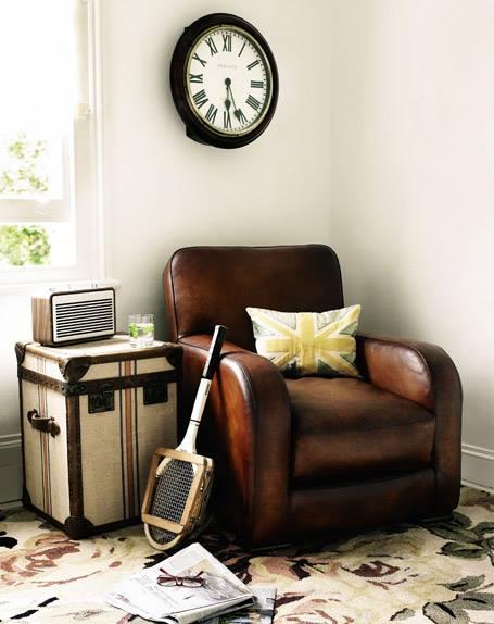 Muebles vintage ideas para decorar con baules 2