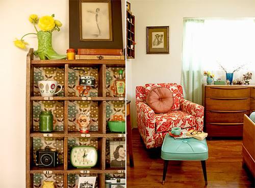 Una casa con decoración retro muy inspiradora 5