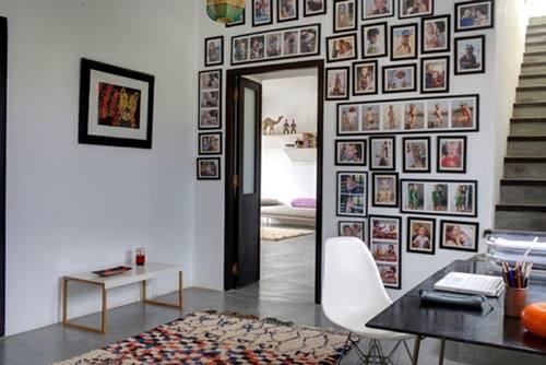 Una casa rústica de estilo marroquí con decoración retro 4
