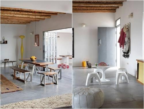 Una casa rústica de estilo marroquí con decoración retro 5
