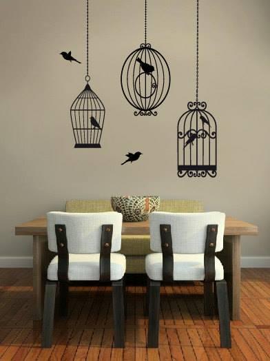 Vinilos decorativos para decoración de interiores vintage 4
