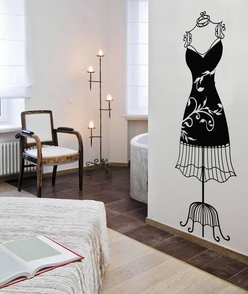 Vinilos decorativos para decoración de interiores vintage - Decomanitas