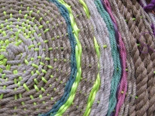 C mo hacer alfombras de yute paso a paso el tutorial - Alfombras de yute ...
