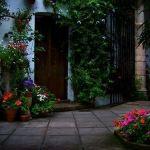 patios cordobeses con bellos elementos arquitectónicos