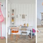 Una casa llena de colores vibrantes entre sencillos muebles vintage 6