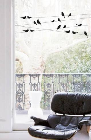 Vinilos para ventanas que sirven para decorar y dar intimidad 1