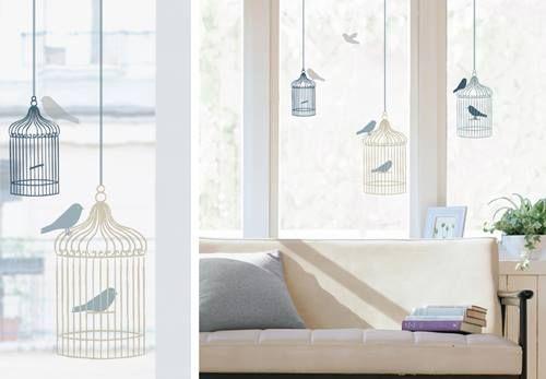 Vinilos para ventanas que sirven para decorar y dar intimidad decomanitas - Vinilos puertas cocina ...