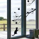 Vinilos para ventanas que sirven para decorar y dar intimidad 9
