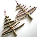 Arboles de Navidad rústicos para hacer en casa