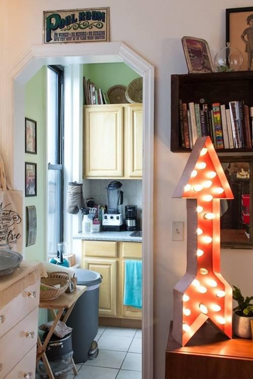 Decoraci n vintage con r tulos luminosos para la casa - La casa vintage ...