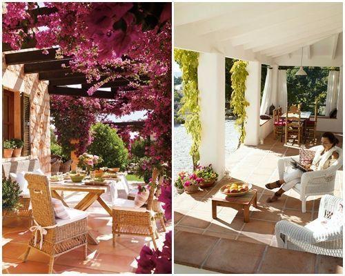 Ideas de decoración inspiradoras para porches, jardines y terrazas 2