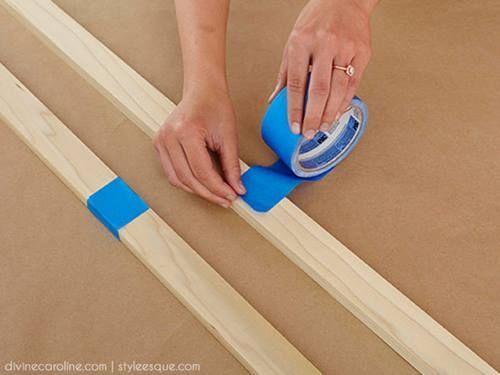 Ideas para decorar percheros de pie DIY 2