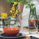 Jarrones con flores para decoracion de interiores 1