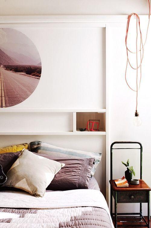 Lámparas vintage para decoración de dormitorios 10