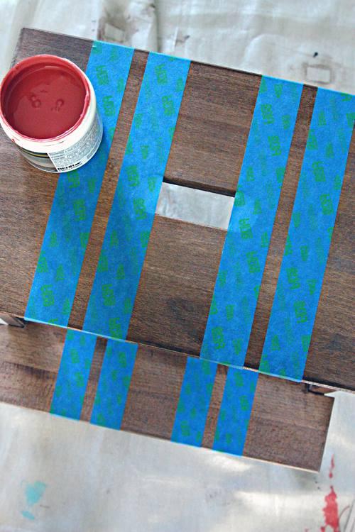 Tunear muebles Ikea una escalera de madera con mil y un usos 6