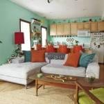 Una casa con decoración retro llena de detalles sorprendentes 2 (2)