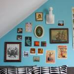 Una casa con decoración retro llena de detalles sorprendentes 9