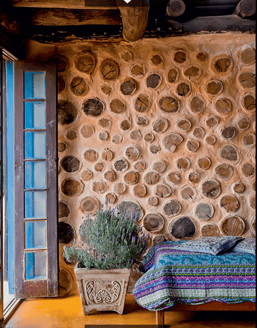 Una decoración reciclada para la más bella casa sostenible... 1