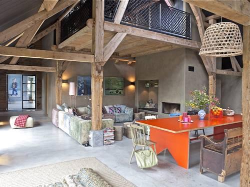 Casas con encanto de vieja granja a alegre casa en Holanda 02