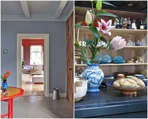 Casas con encanto de vieja granja a alegre casa en Holanda 05