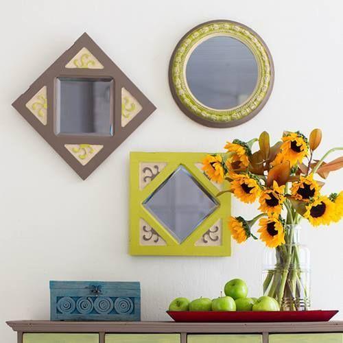 Como hacer chalk paint o pintura a la tiza en casa para decorar pequeños objetos.