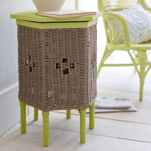 Como hacer chalk paint o pintura a la tiza en casa para pintar muebles de ratán
