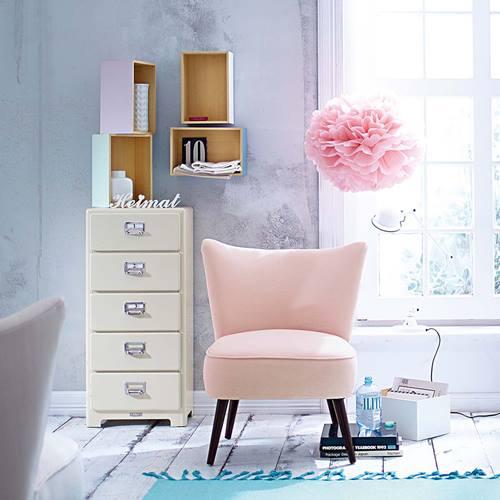 Estanter as decorativas con aire vintage chic decomanitas - Leroy merlin estanterias decorativas ...