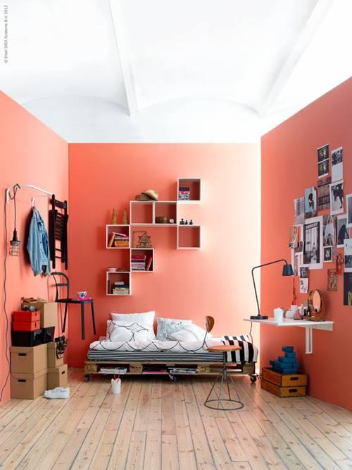 Estanterías decorativas con aire vintage chic 2