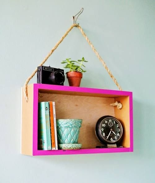 Estanterías decorativas con aire vintage chic 3