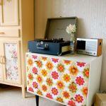 Ideas para decorar con papel pintado vintage 2