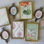 Ideas para decorar con papel pintado vintage 6